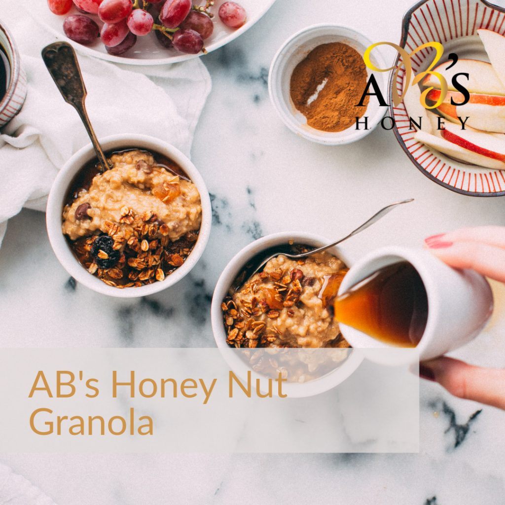 Homemade Toasted Granola Recipe with Honey and Nuts