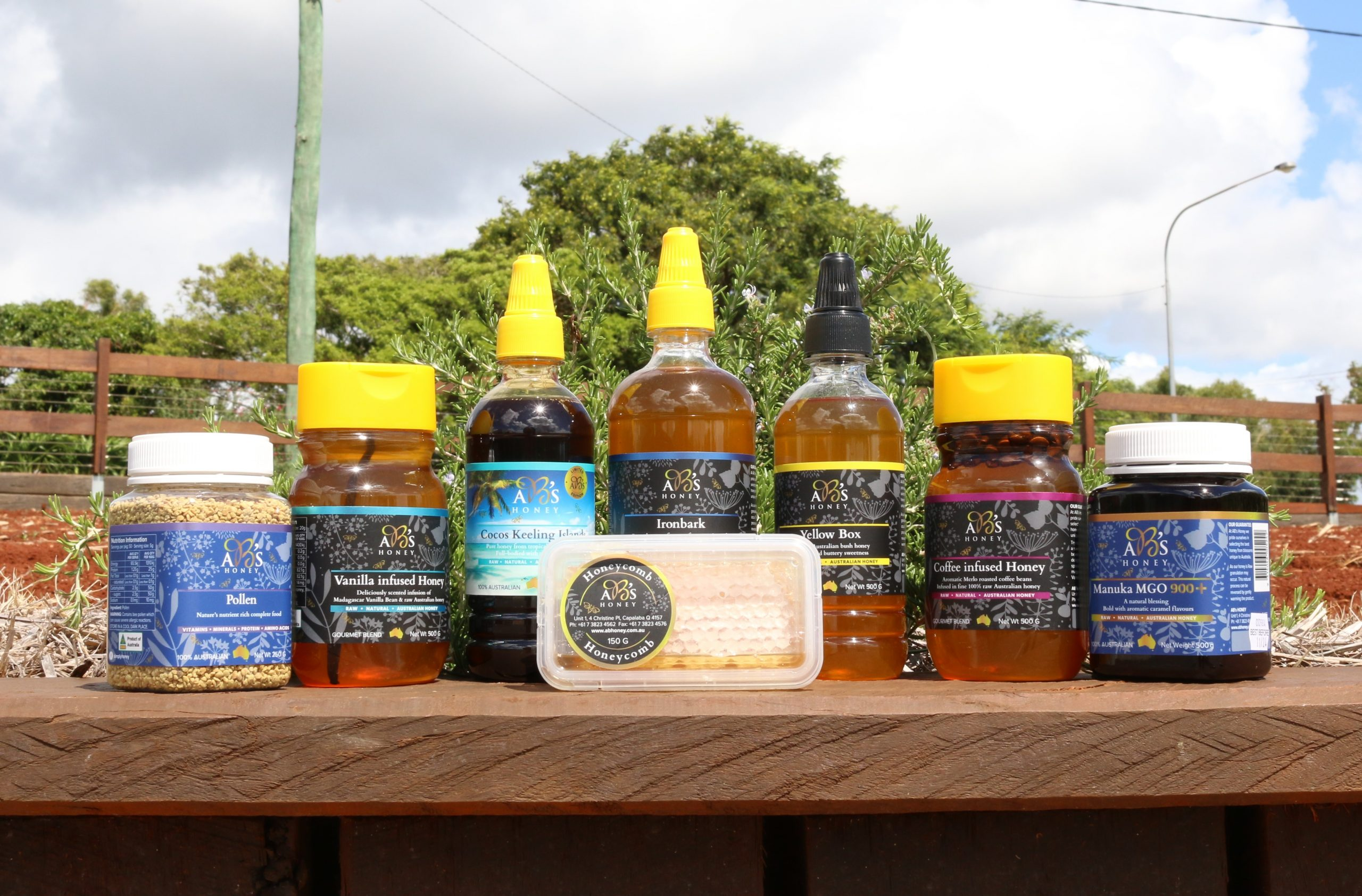 Suport local business; local honey products
