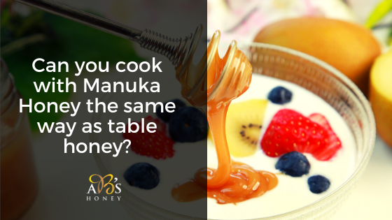 cooking with Manuka Honey