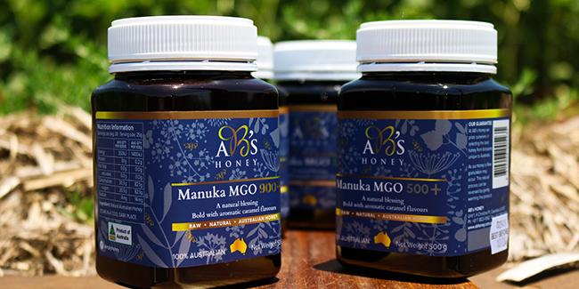 Manuka Honey strength range
