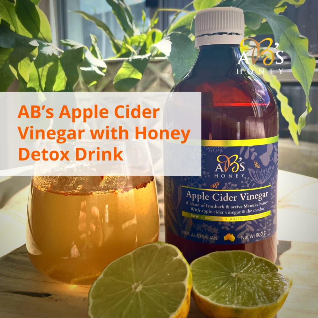 AB's Apple Cider Vinegar with Honey Detox Drink