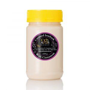 Creamed Honey and Cinnamon jar